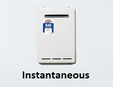 instantaneous hot water systems